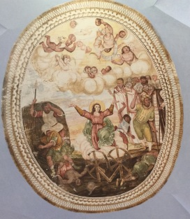 St. Catherine's ceiling