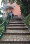 Steps from Corniglia to the train station