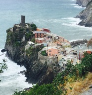 Vernazza from the end of the trail