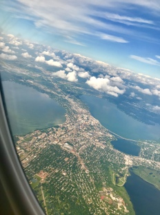 Madison from the air.